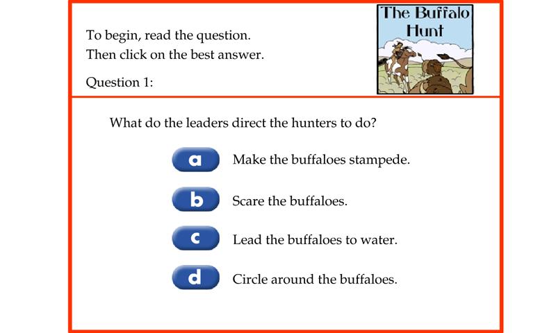 The buffalo hunt