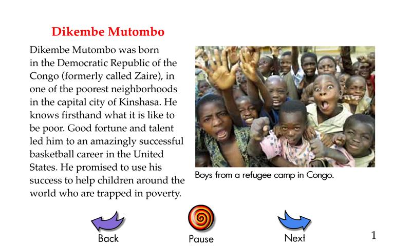 Success Stories 2 Dikembe Mutombo Quiz