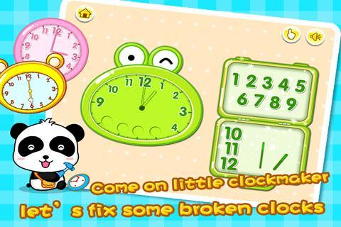 Baby Learning Clock