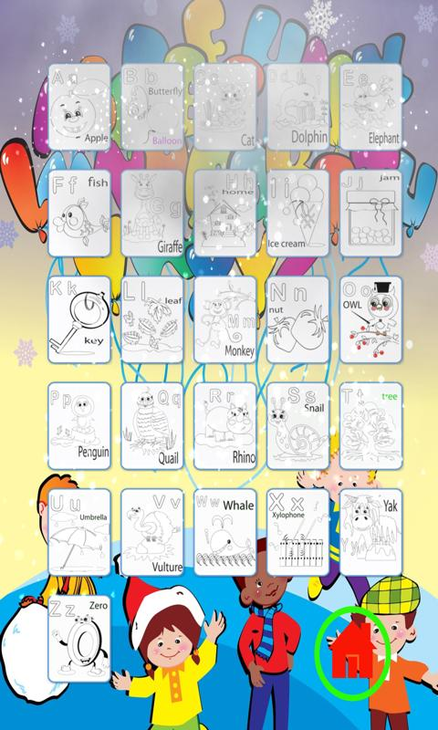 Kids Drawing and Coloring Book