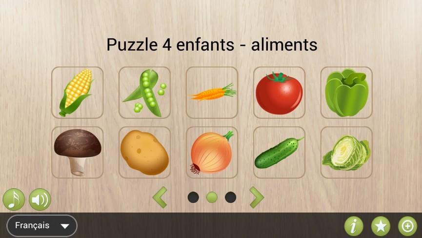 Food Puzzle 4 Kids