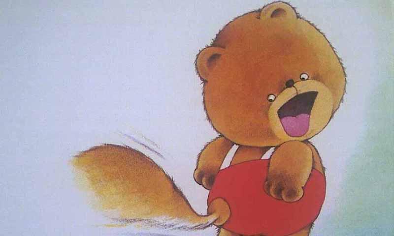 小熊的尾巴