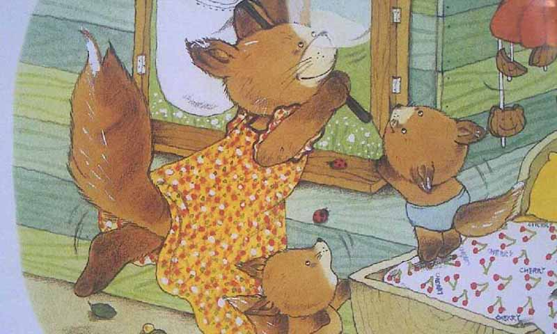 小熊的哈欠