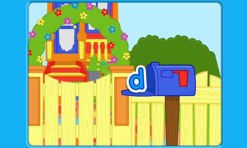 Magic mailbox ABC
