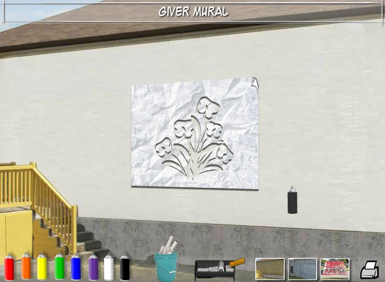 GIVER mural