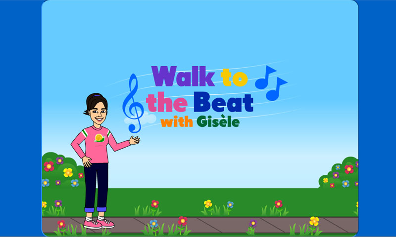 Walk to the beat with gisele