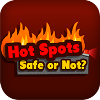 Hot spots safe or not