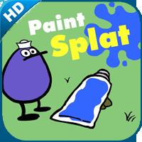 PEEP paint splat