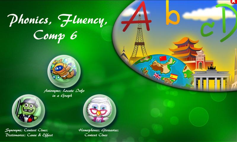 Phonics, Fluency, Comp:6