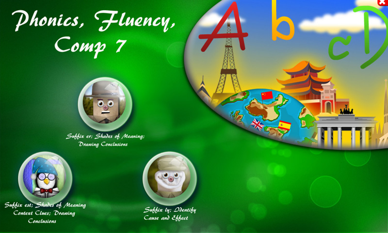 Phonics, Fluency, Comp:7