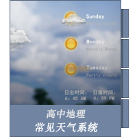 常见天气系统
