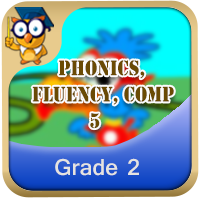 Phonics, Fluency, Comp:5