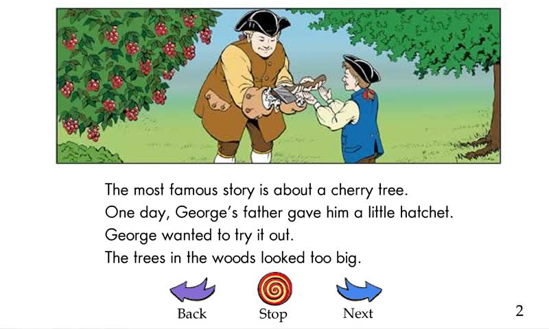 Childhood stories of George Washington