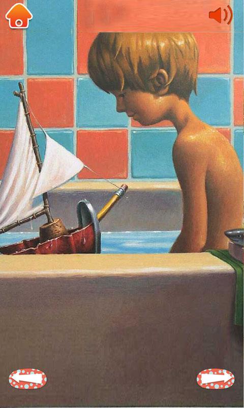 玩具船去航行