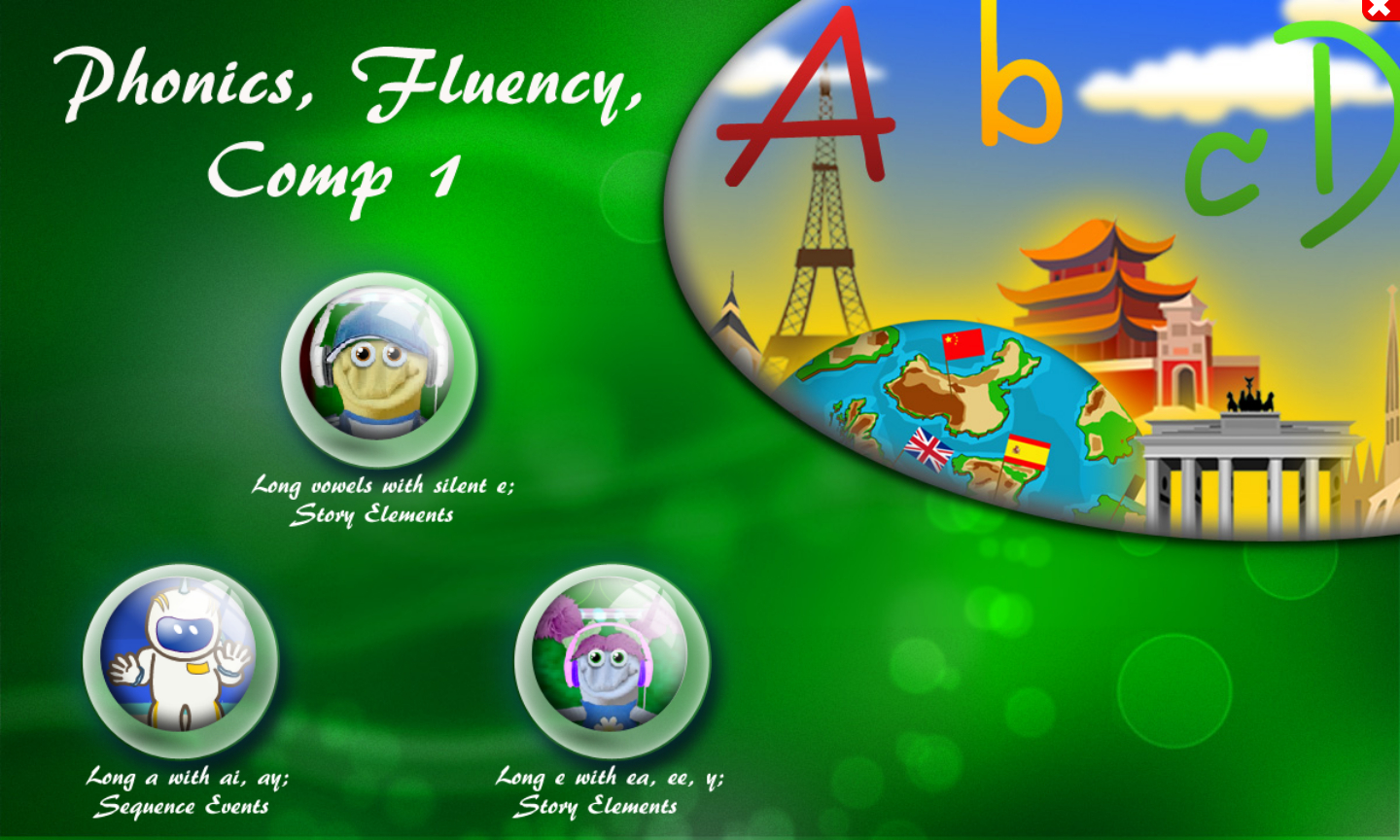 Phonics, Fluency, Comp:1