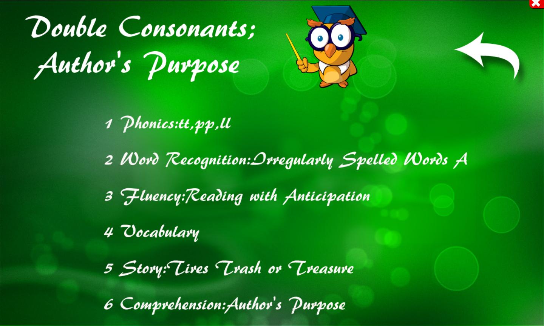 Phonics, Fluency, Comp:5