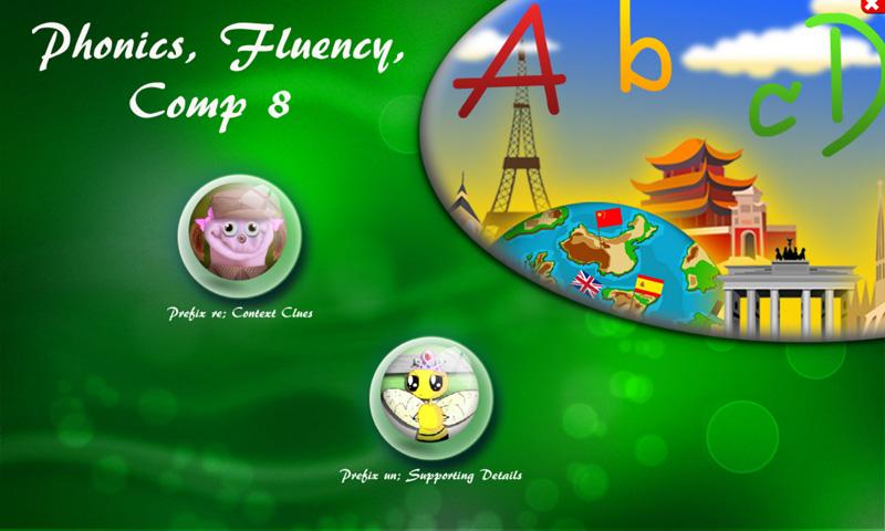 Phonics, Fluency, Comp:8