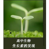 植物生长素的发现